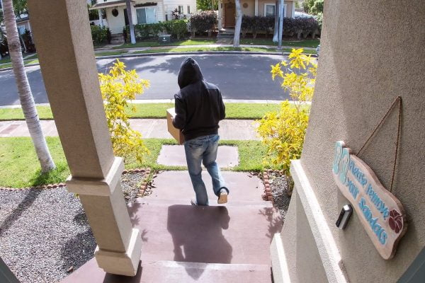 8 tips to protect your packages from porch pirates