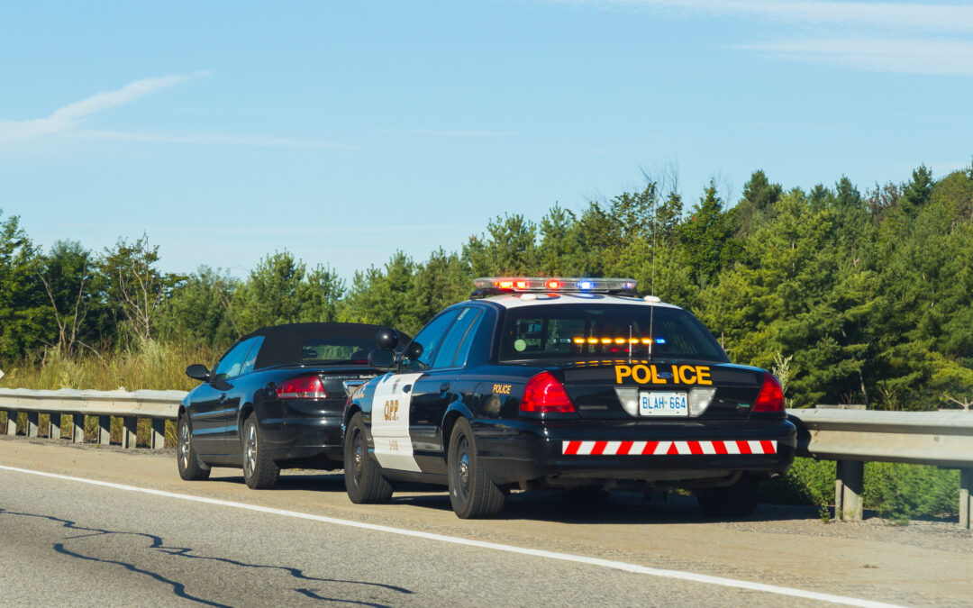 What does a driving record of 9 mean in Ontario?